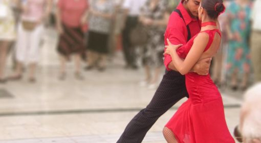 Близость в танце