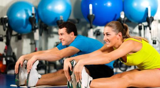 День фитнеса на двоих