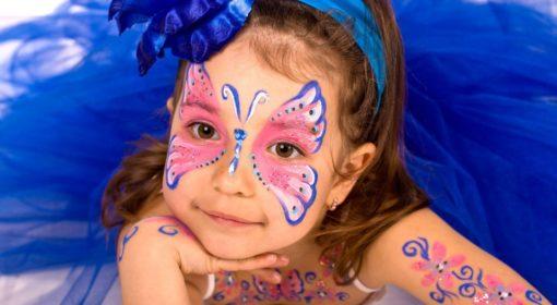 Детский аквагрим с фотосессией