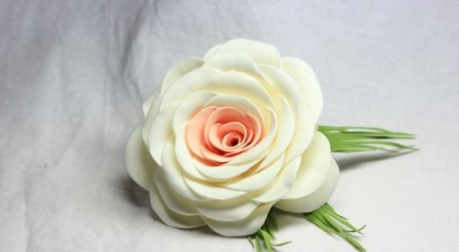 "Мастер-класс ""Цветы из фоамирана"""
