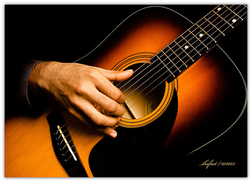 Мастер-класс игры на гитаре