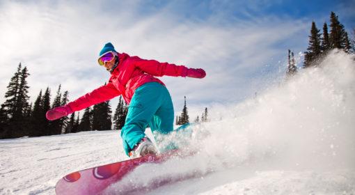 Мастер-класс катания на сноуборде