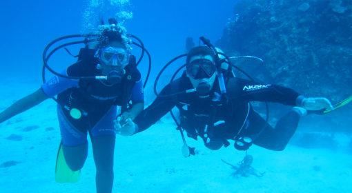 Подводное приключение для двоих