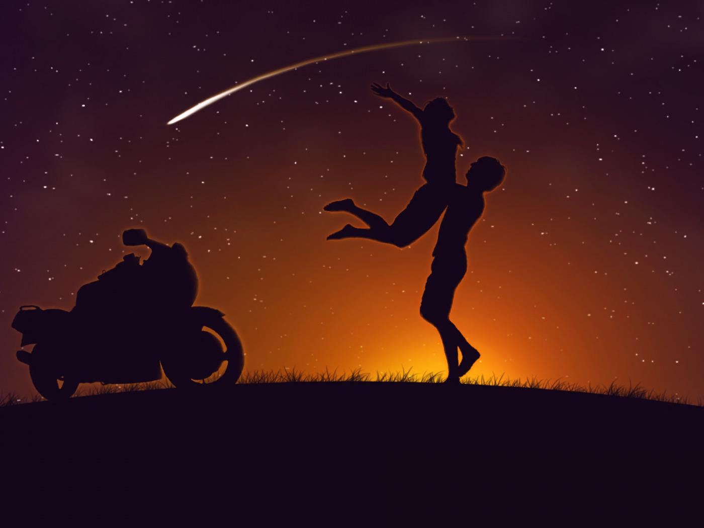 Прогулка на мотоциклах для двоих