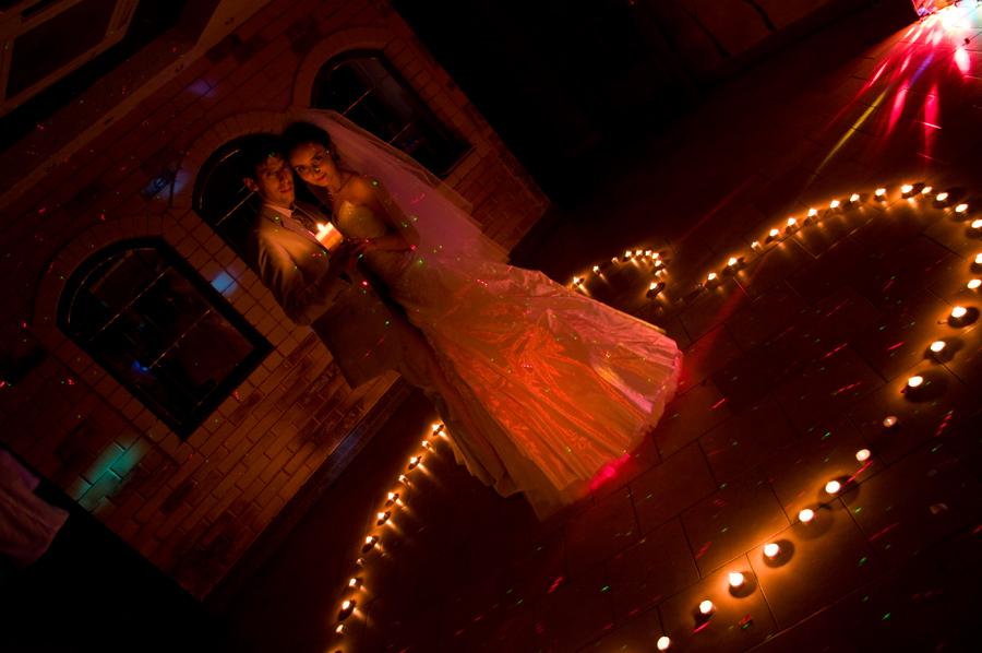 Танец при свечах