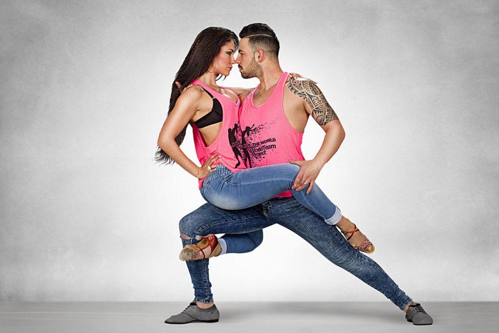 Урок парных танцев